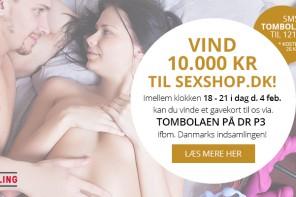 Danmarks Indsamling: Sexshop.dk donerer 10.000 kroner til et hottere sexliv