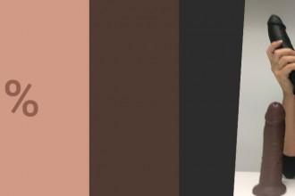 hudfarvet-dildo
