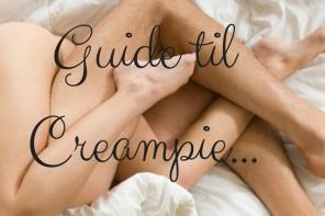Guide til creampie
